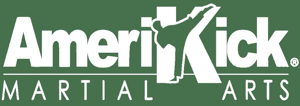 AmeriKick Logo White 1024x364 1, AmeriKick Martial Arts Levittown PA